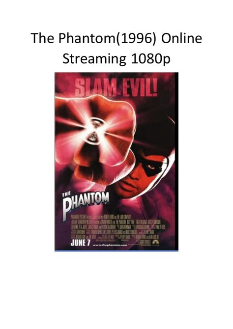 streaming film action comedy the phantom 1996 online streaming 1080p romantic action