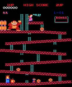 On the other hand donkey kong reminds you instantly of the favorite