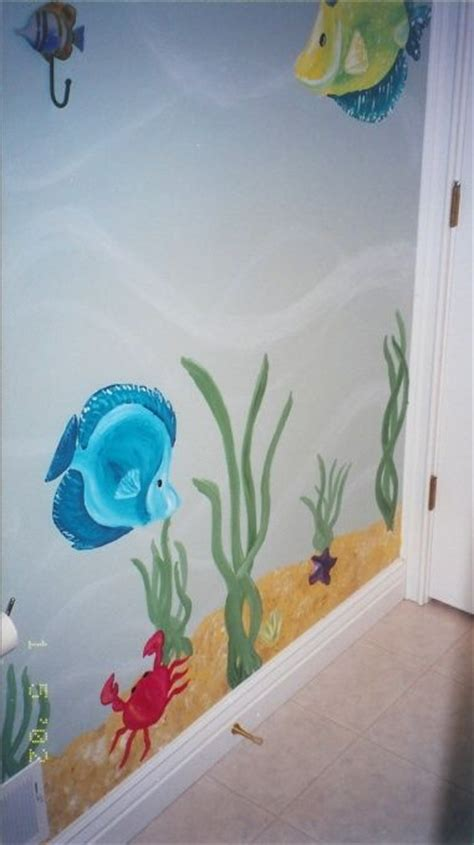 fish themed bathroom 31 best images about underwater bathroom on pinterest