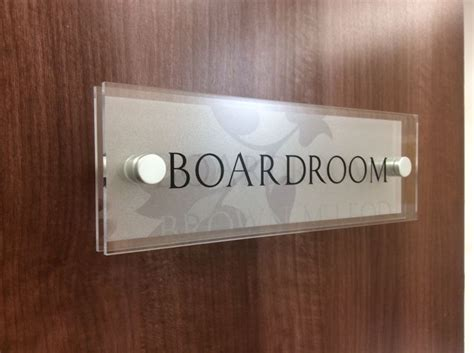 glass in a b label door 248 best office door signs for your business images on