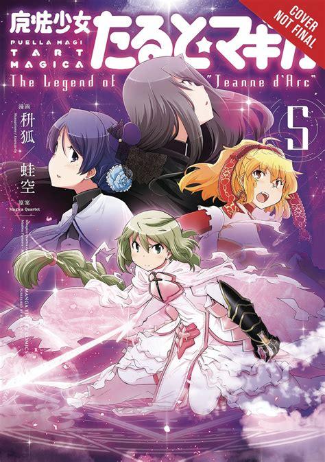 Puella Magi Tart Magica Vol 3 The Legend Of Jeanne D Arc magica quartet fresh comics