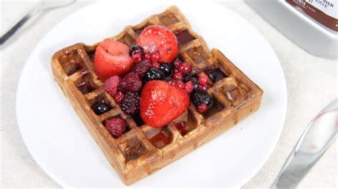 protein waffles recipe high protein waffles recipe warren nash tv