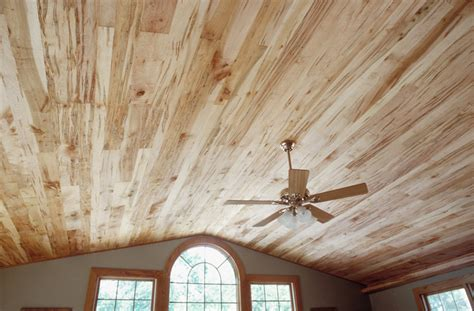Paneled Ceiling by Wormy Maple Ceiling Paneling Cochrans Lumber