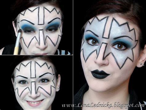 kiss forever tutorial kiss face makeup template mugeek vidalondon