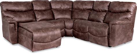 lazy boy james sofa la z boy james four piece power reclining sectional sofa