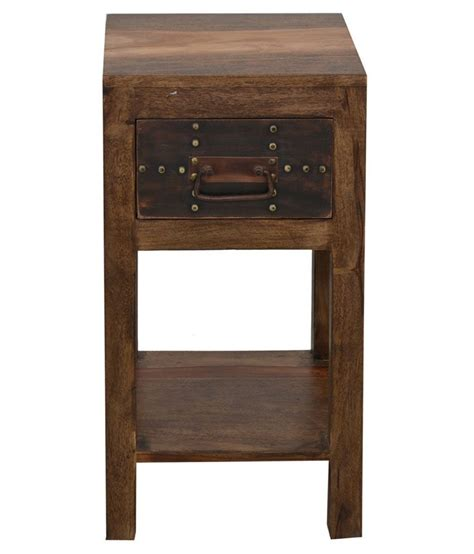 shekhawati solid wood side table available at snapdeal for