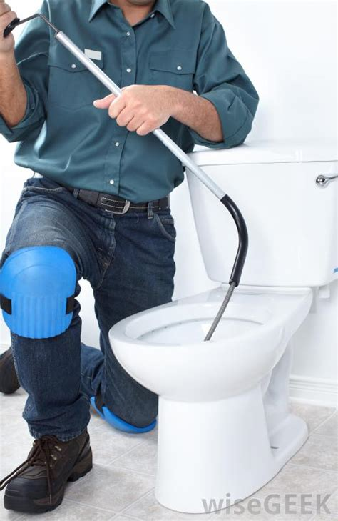 Plumber Toilet Repair How Do I Unclog A Toilet With Pictures