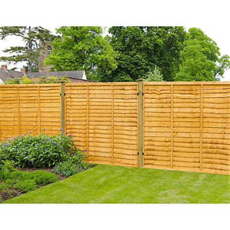 Forest Fencing Trellis Forest Fence Panel 6x3ft