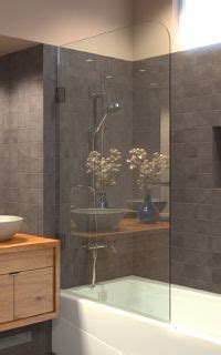 shower screens  sleek alternative  shower curtains
