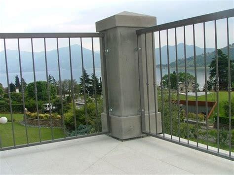 ringhiere terrazzi ringhiere per balconi brescia o m c f