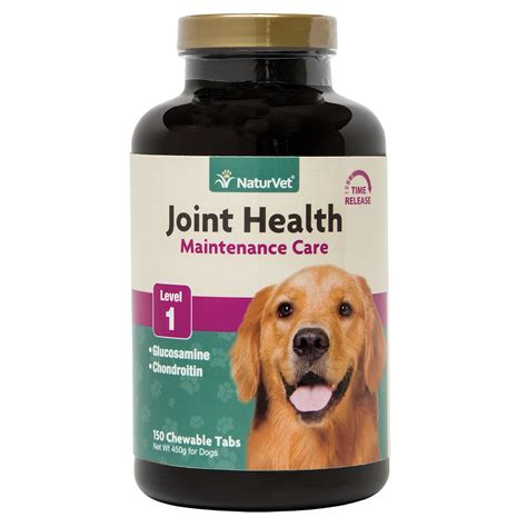 joint health for dogs naturvet joint health time release level 1 maximum hip joint supplement for dogs petco