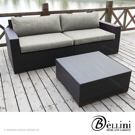 deep set sofa bali 5 piece deep seating sofa set w771053 bellini