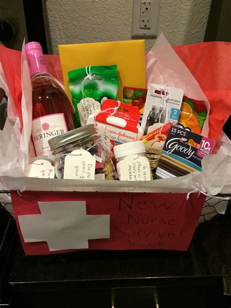Nursing School Gifts For Friends by I Made This New Survival Kit For My Friend I