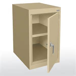 Standard Desk Height Sandusky Cabinets Ea11182430 Elite Series Single Door