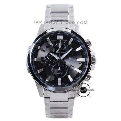 Jam Tangan Wanita Merk Casio Edifice Ori Bm Type She018 harga sarap jam tangan edifice efr 303d 1av silver black