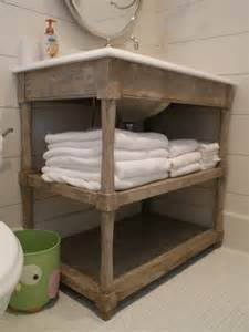Open Bathroom Vanity » New Home Design