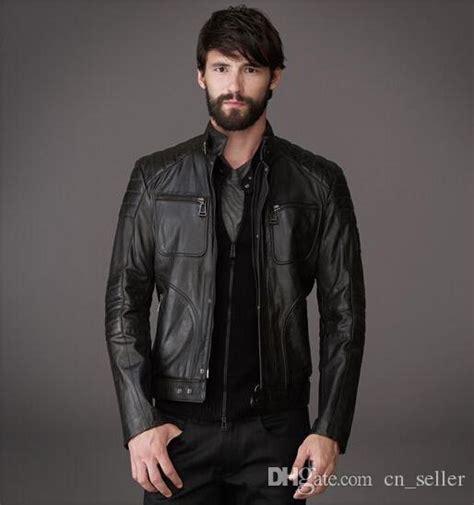 Jaket Zipper 2 Total Di Kandang Bali United Bernyali 2018 designer leather jackets slim casual jackets fit shape zipper to