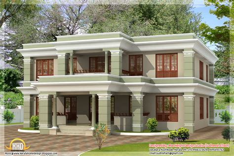 house roof designs in india 4 different style india house elevations kerala home design and floor plans