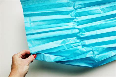 How To Make Tissue Paper Lanterns - diy geometric lanterns