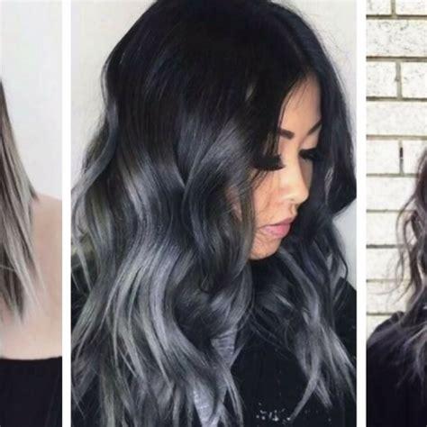 cheveux chatain meche grise coloration des cheveux moderne cheveux chatain meche grise coloration des cheveux moderne