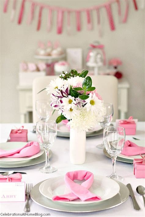 Breast Cancer Awareness Decoration Ideas Host A Pink Party For Breast Cancer Awareness