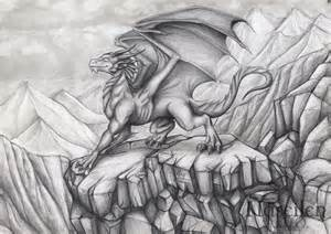 Black Side Table 10 Cool Dragon Drawings For Inspiration Hative