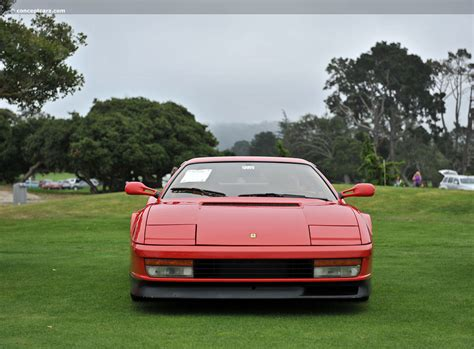 2009 testarossa for sale auction results and data for 1990 testarossa