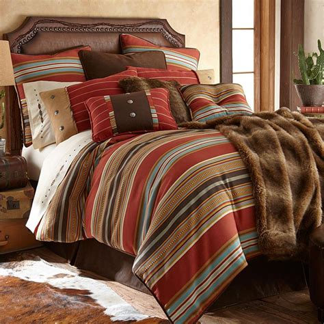 Pottery Barn Striped Bedding Calhoun Western Bedding Comforter Set King Size