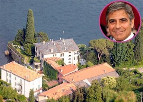 george clooney home in italy george clooney celebrity dream homes us weekly