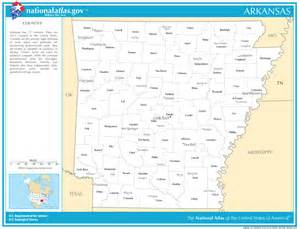 arkansas state maps interactive arkansas state road maps