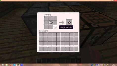 comment faire une chambre minecraft tuto comment faire une cisaille minecraft
