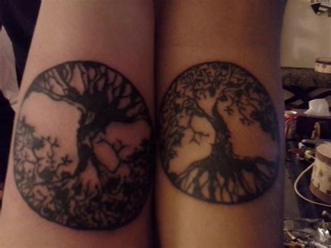 mother daughter tree tattoo celtic tree of and tattoos