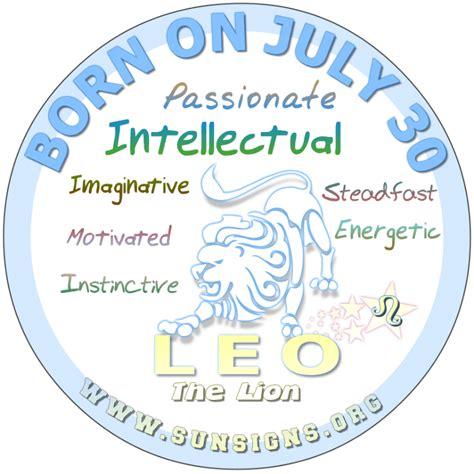 image gallery july 30 zodiac