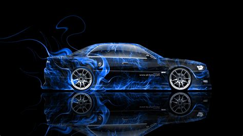 wallpaper abstract car toyota chaser jzx100 jdm side fire abstract car 2014 el tony