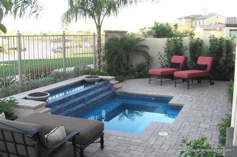 28 Fabulous Small Backyard Designs With Swimming Pool Small Pool For Small Backyard