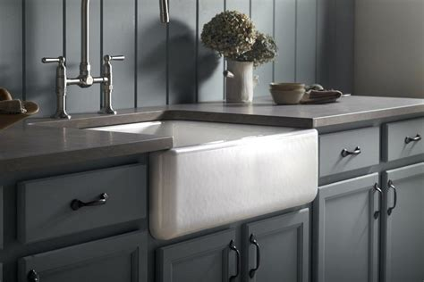 kohler white farmhouse sink kohler whitehaven farmhouse sink above counter farmhouse