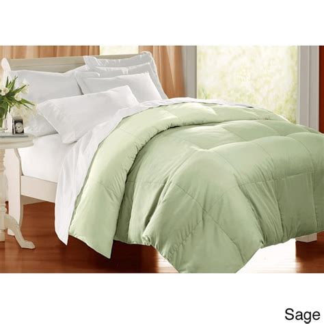 all season down alternative comforter all season 233 tc cotton solid color down alternative