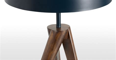 Navy Blue Table L Navy Blue Wood Tripod Table L Made