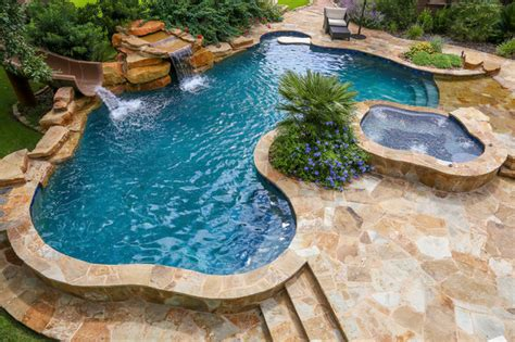 Floor And Decor Plano Tx water slide and waterfall