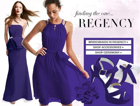 regency color dress regency color palettes bridesmaid dresses by color