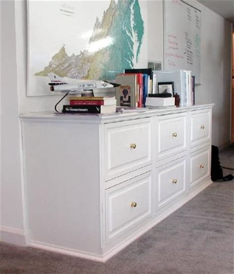 built in file cabinets wooden lateral file cabinet plans woodworking projects