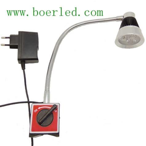 magnetic base gooseneck work light 3w led gooseneck work light on magnetic base