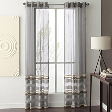 jcpenney home decor curtains studio rumor grommet top sheer panel jcpenney decor studios home and the o jays