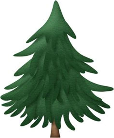 Evergreen Tree Clip by Evergreen Tree Clip Clipart Best