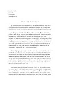Thesis Exles For Compare And Contrast Essay by Ancient Rome Compare And Contrast Essay