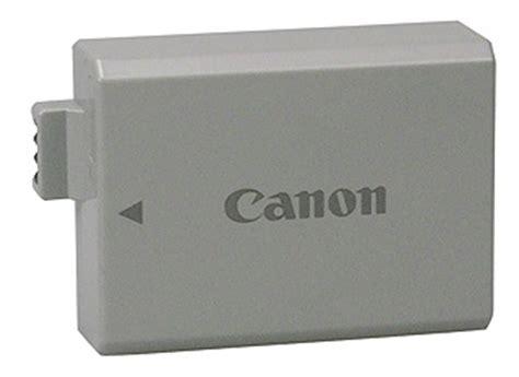 Battery Canon Lp E5 Original Berkualitas canon lp e5 li ion rechargeable battery for canon digital rebel xsi freestyle photographic