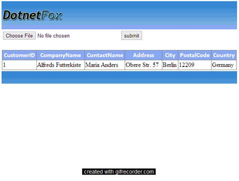 Import Records Import Records From Excel Sheet To Sql Server With Validations In Asp Net Using C