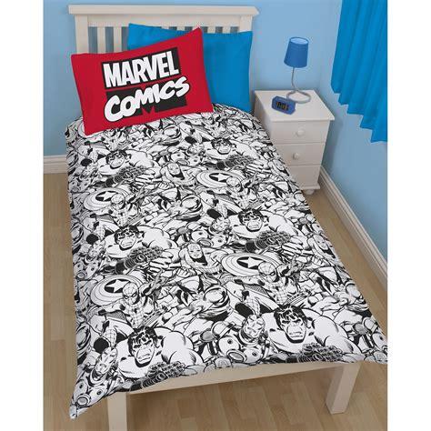 Marvel Schlafzimmer by Bettw 228 Sche Offiziell Marvel Comics Schlafzimmer