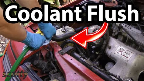 how to reverse a radiator fan how to flush a coolant system in your car the easy way