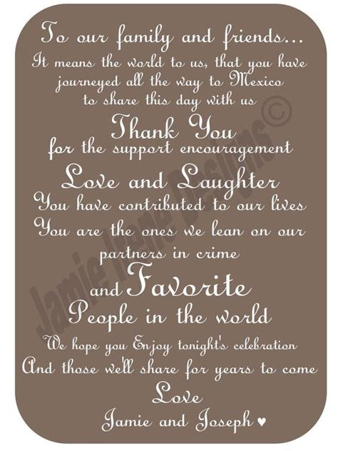 Thank You Card For Attending Destination Wedding custom designed destination wedding thank you card diy